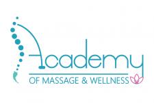 Logo of Academy of massage and wellness
